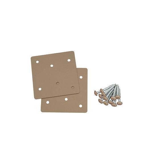 F 形ブラケット(XBP-305)/ 2×4Mate DIY収納パーツ