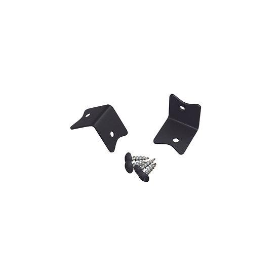 スターL形ブラケット Sサイズ(XBP-550)/ 2×4Mate DIY収納パーツ