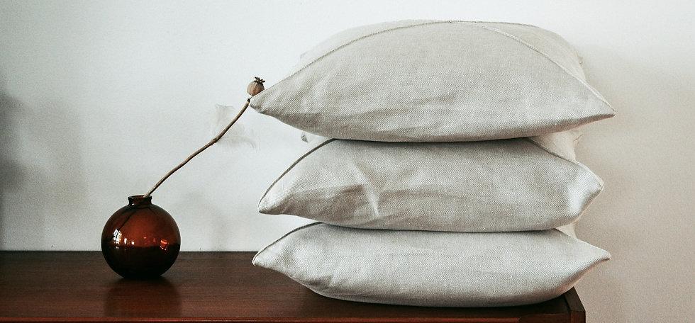 Nachhaltig Zu Hause Hanf Leinen Kissen.jpg