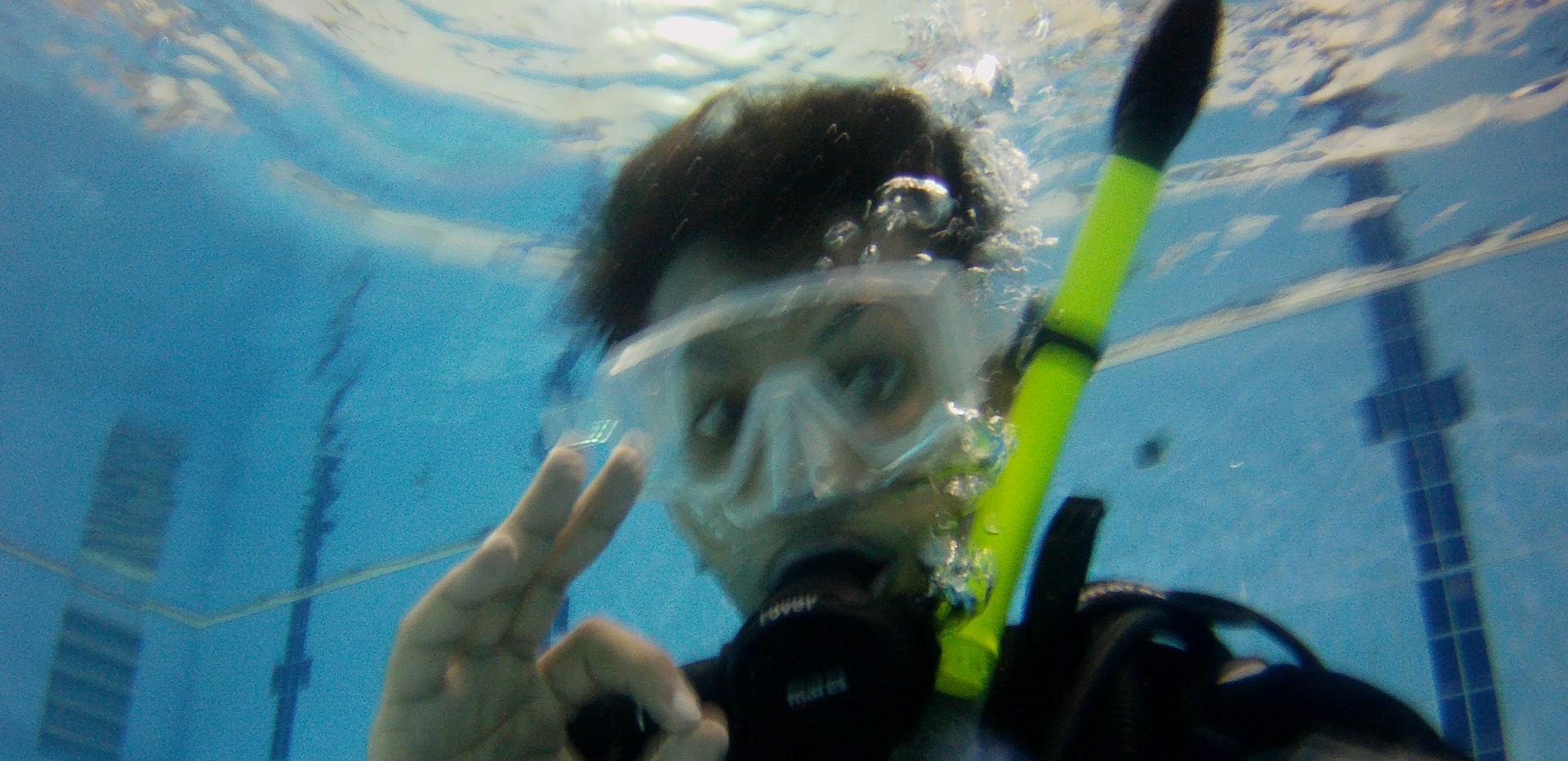 التنفس تحت الماء تجربة لن تنساها