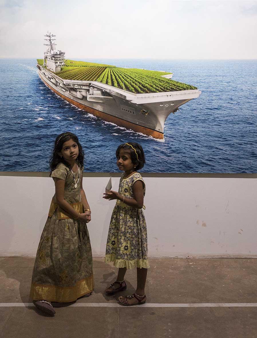 Cochin, Biennale, Kerala