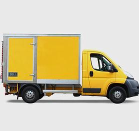 Желтый грузовик