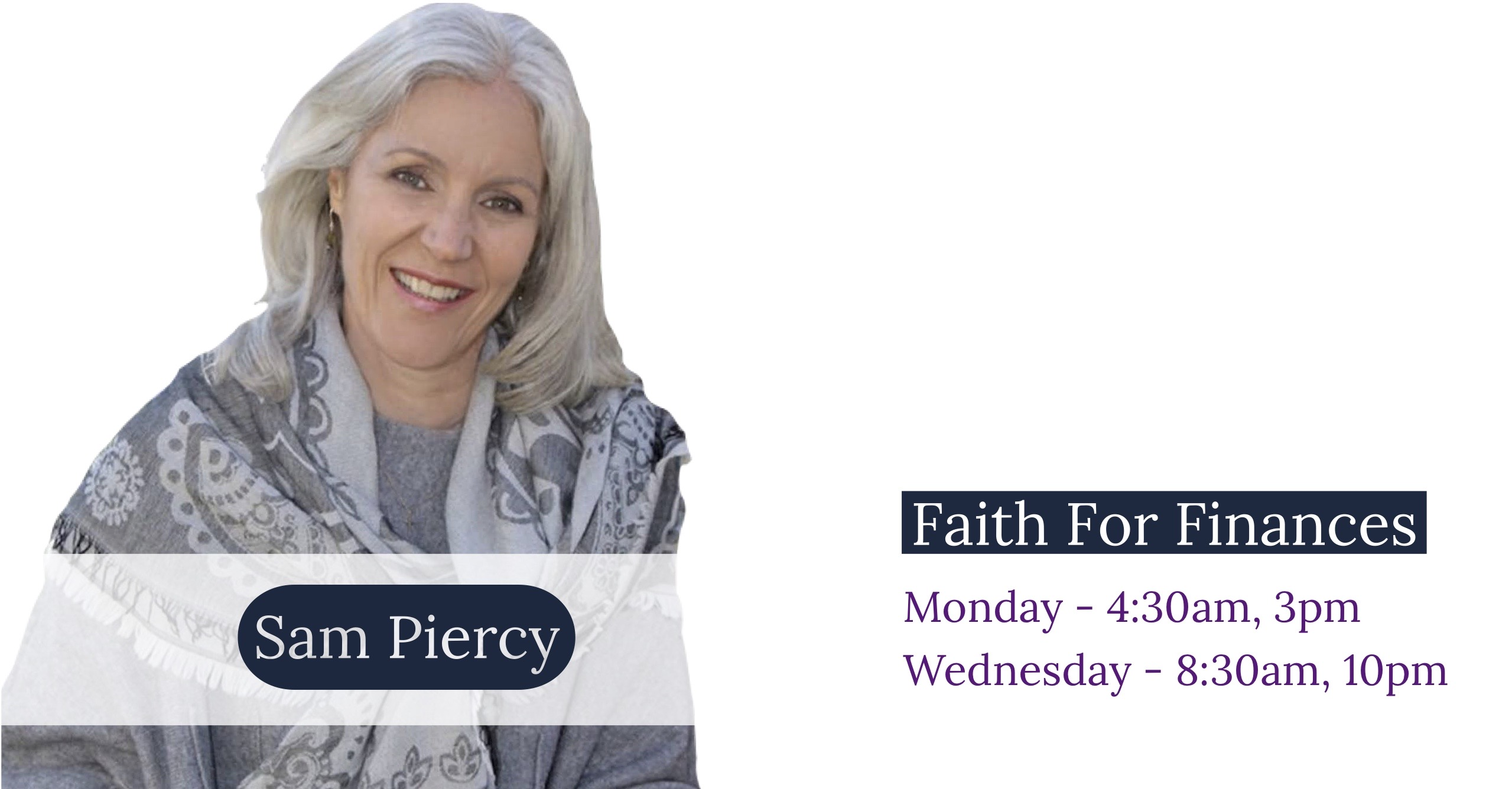 Faith For Finances - Sam Piercy