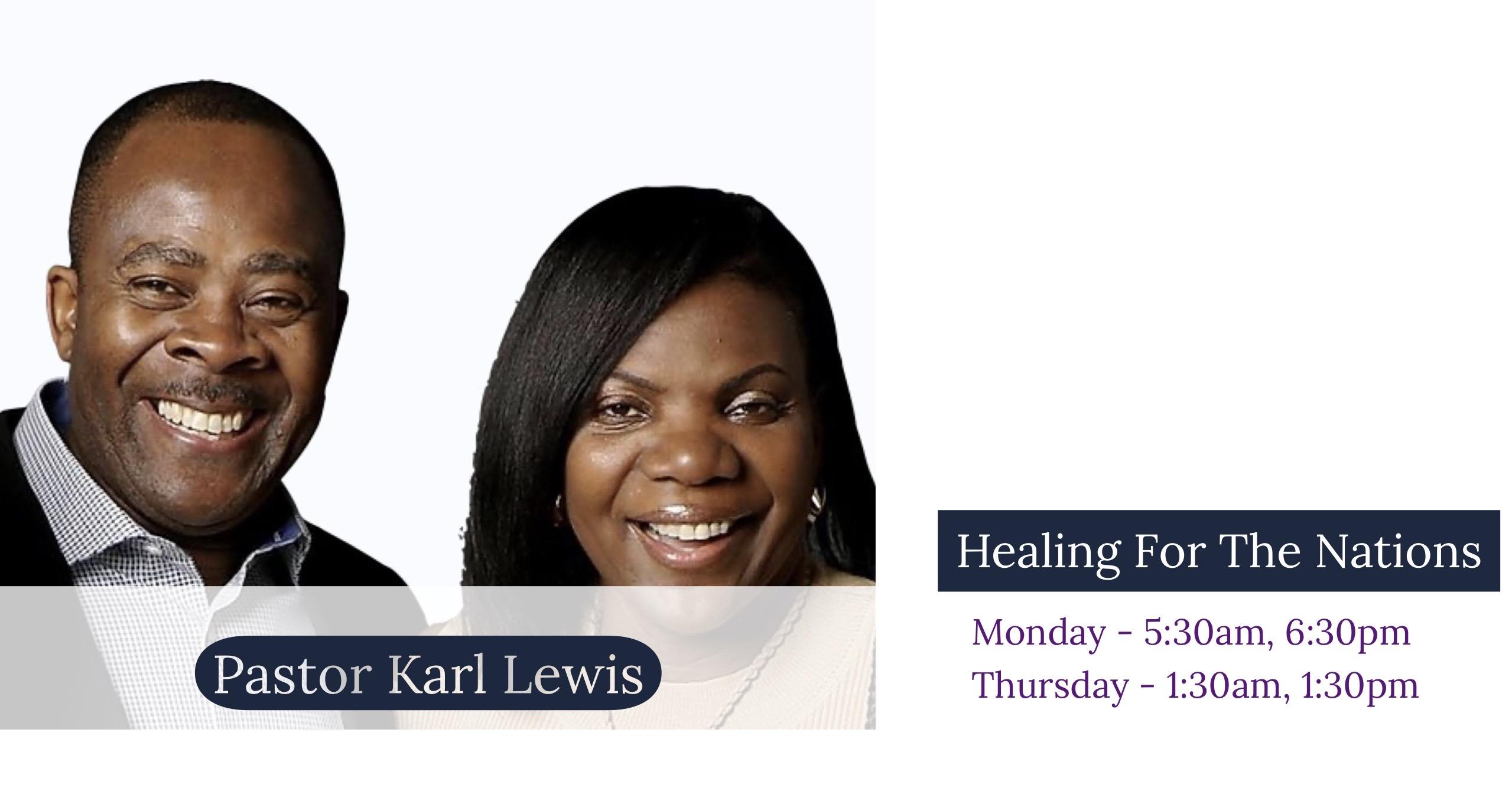 Pastor Karl Lewis