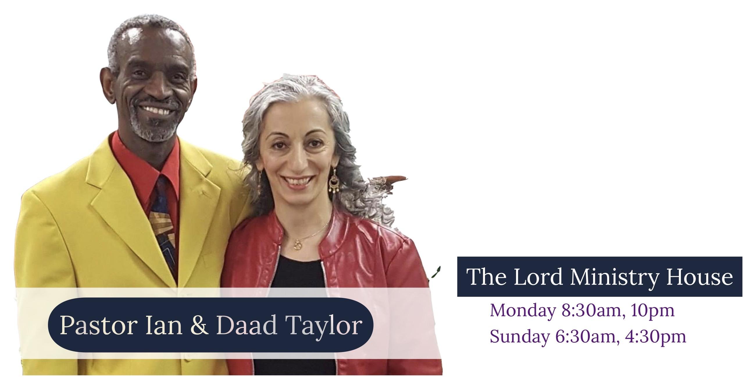 Pastor Ian Taylor
