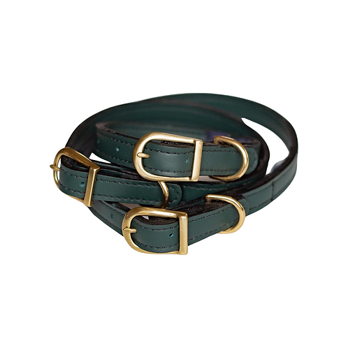 EVERGREEN LEATHER COLLAR