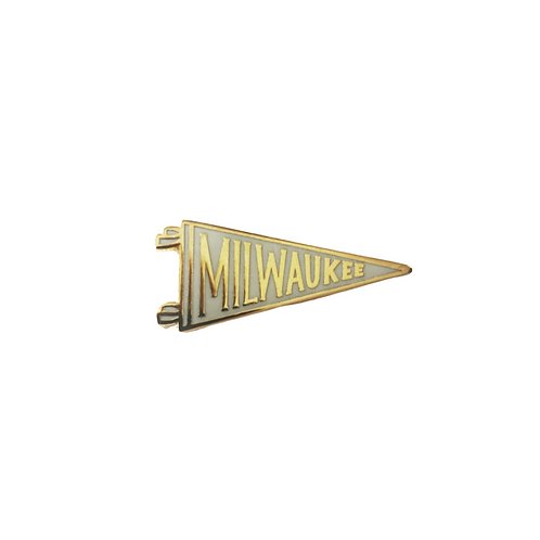 MILWAUKEE PENNANT PIN