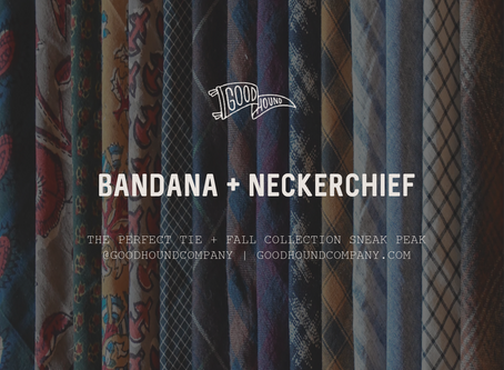 The Perfect Tie + Fall Collection Sneak Peak
