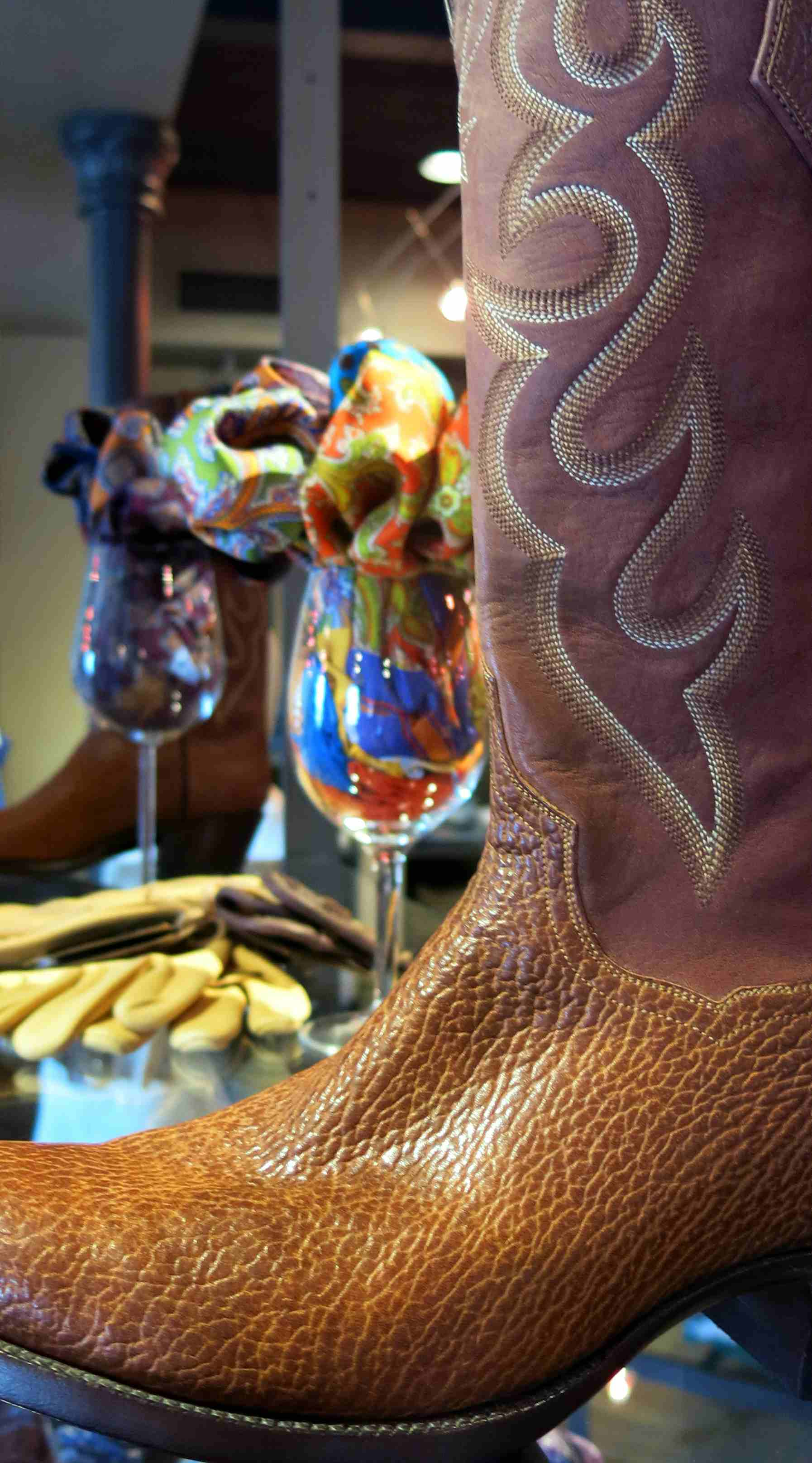 Robert Talbott & J. B. Hill Boots
