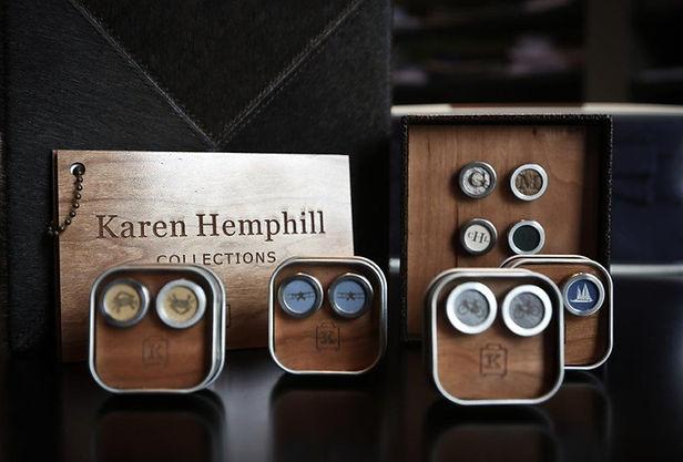 Karen Hemphill Collections cuff links
