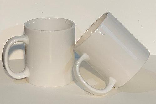 CUSTOM! 19oz White Mug
