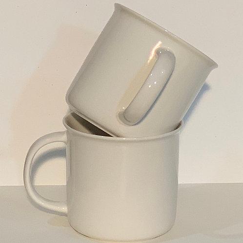 CUSTOM! 18oz White Mug
