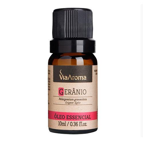 Óleo essencial Gerânio 10 ml Via Aroma