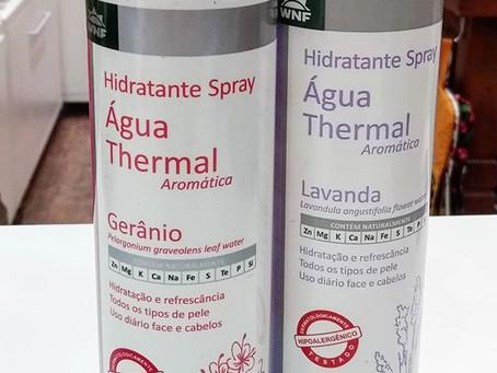 Primeira água thermal aromática do mundo - WNF