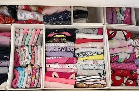 Keeping Children's Clothes Organised