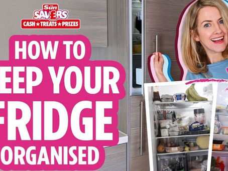 Top Tips To Keep Your Fridge Organised