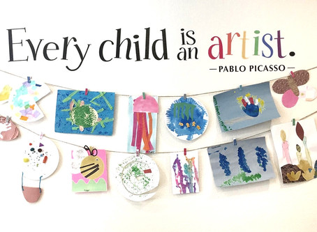 Top Tips for Organising Childrens Art