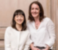 Marie Kondo and Sue Spencer KonMari Consultant trained by Marie Kondo