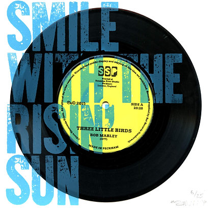 Smile With The Rising Sun (on vinyl record)