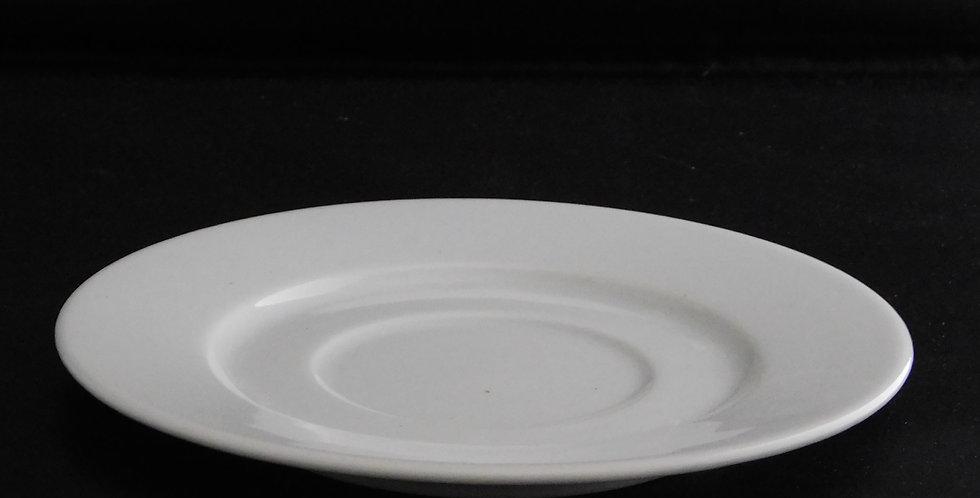 Whittington Porcelain - Coffee Can Saucer