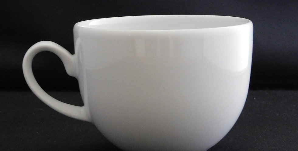 Classic White Crockery - Tea Cup