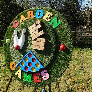 Garden Game Signage