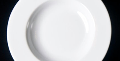 Classic White Crockery - Soup Plate