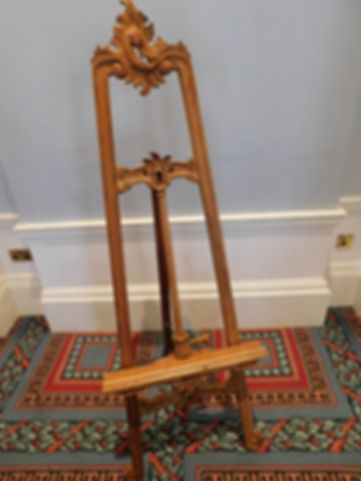 Ornate Wooden Easel