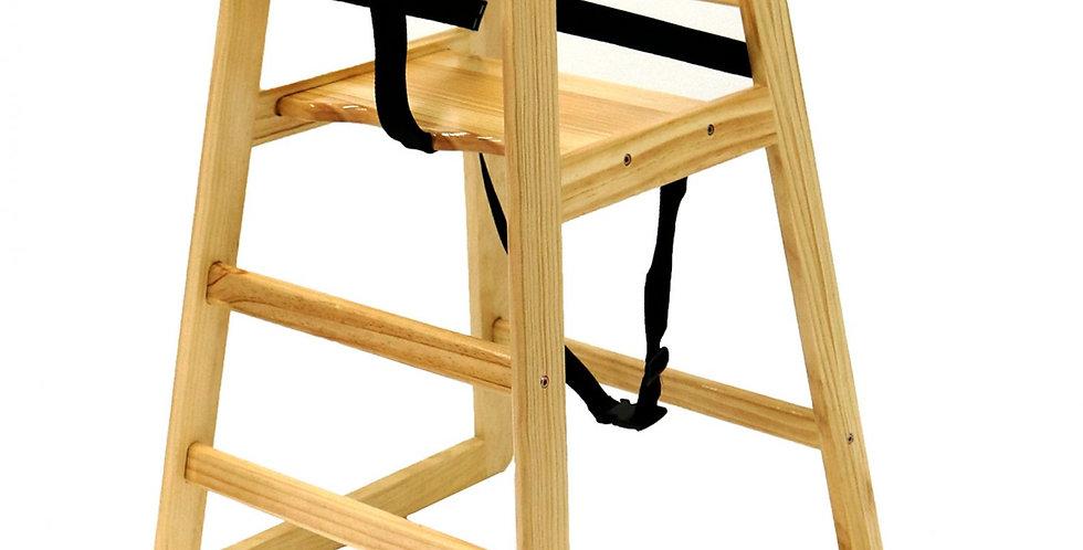 Natural Wooden, FSC-Certified, High Chair