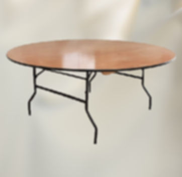 5ft 6 Round Banqueting Table