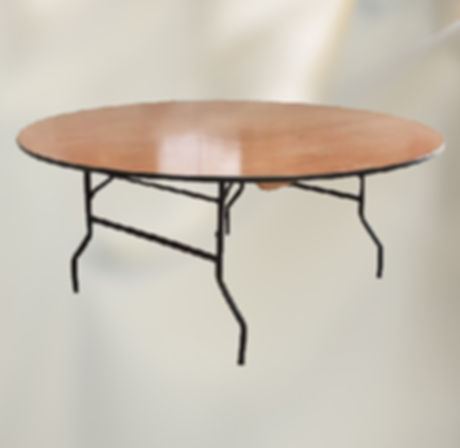 4ft Round Banqueting Table