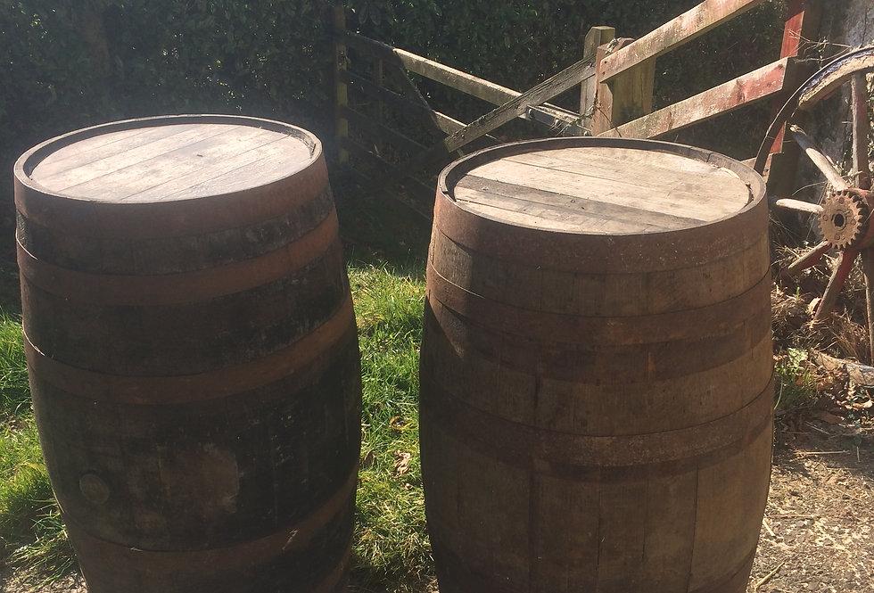 Genuine Wooden Whisky Barrels
