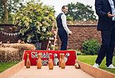 Skittle Alley at Wedding