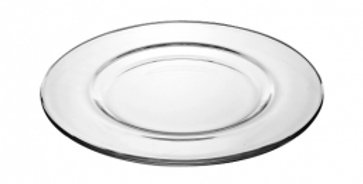 Elegant Pure Glass Charger Plate