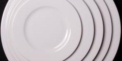 Classic White Crockery - 6.5 Inch Side Plate
