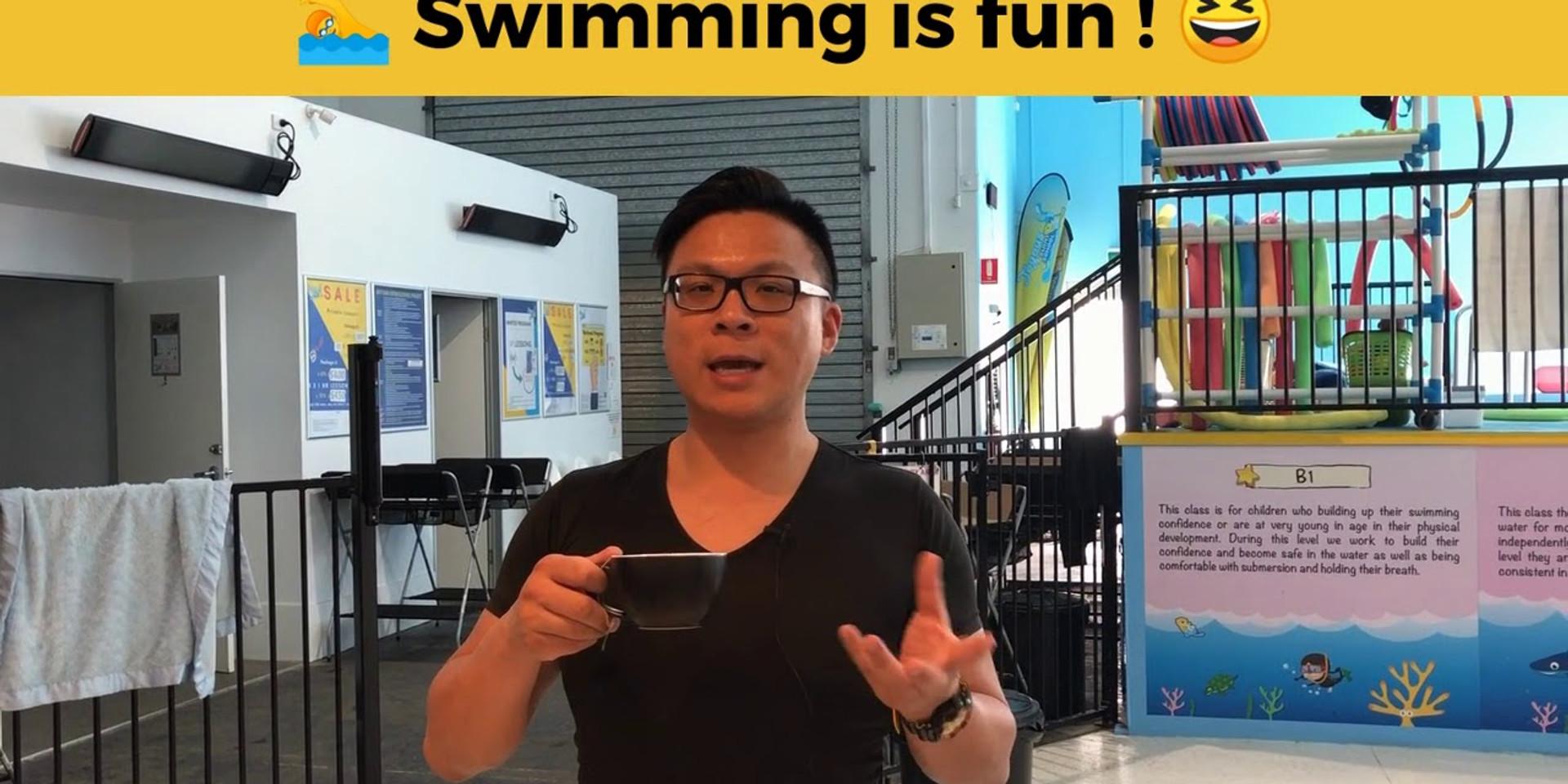 Swimming is Fun !