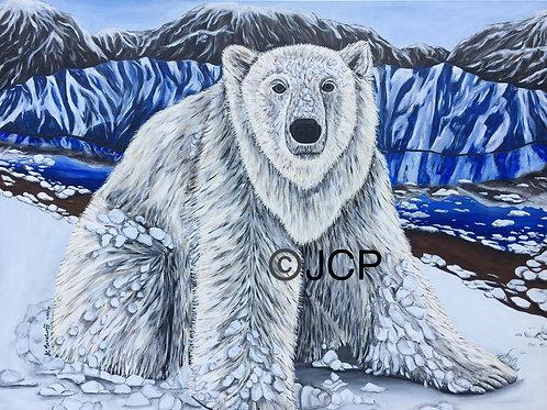 It's a Polar Bears Life- original painting