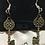 Thumbnail: Antique bronze skeleton key earrings (Assorted)