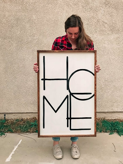 Home Sign (24 x 36)