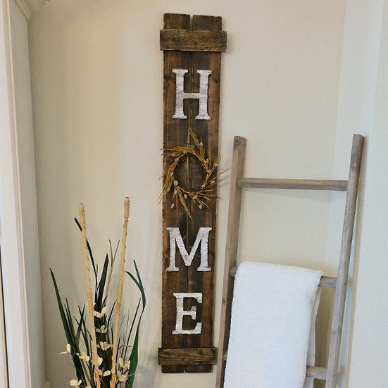 Shutter Home Sign