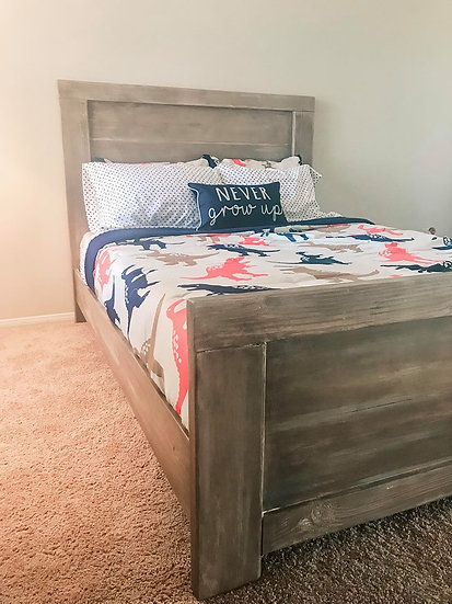 Shiplap Bed
