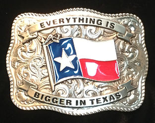 Everything Is Bigger In Texas Buckle