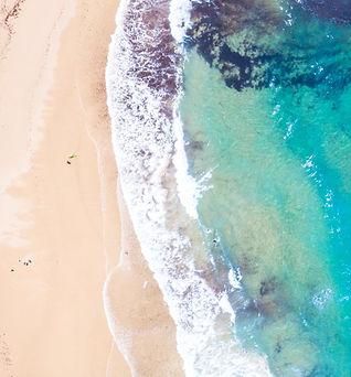 Praia paradisíaca Algarve
