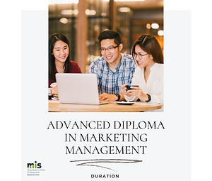 Adv Diploma in Marketing Management - 14
