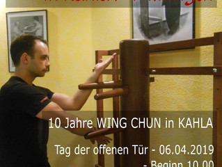 10 Jahre WING CHUN in Kahla