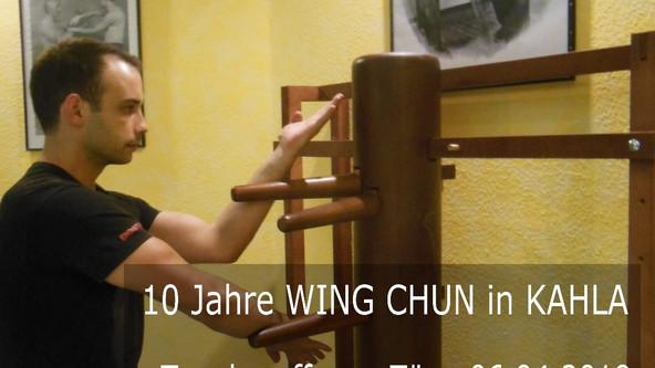 10 Jahre WING CHUN in Kahla