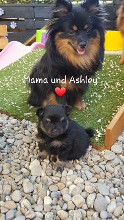 Mama und Ashley