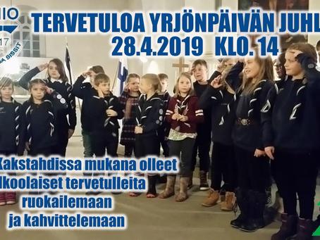Yrjönpäivä juhla 28.4.2019