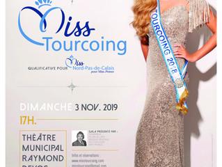 La billetterie pour l'élection Miss Tourcoing 2019 est ouverte!!!