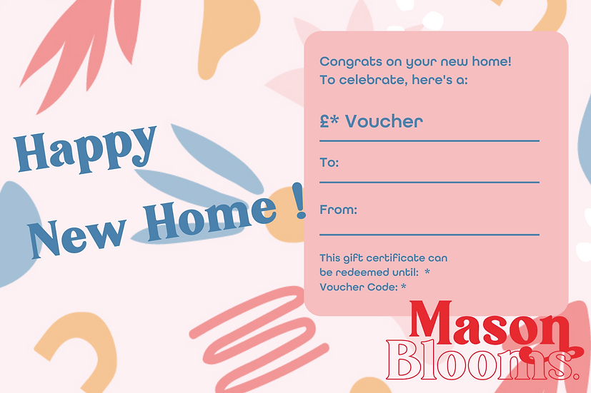 E-Gift Card - Happy New Home